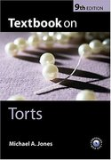 Cover of Textbook on Torts
