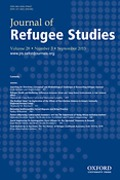 Cover of Journal of Refugee Studies: Print + Online