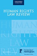 Cover of Human Rights Law Review: Print + Online