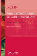 Cover of International Journal of Constitutional Law: Print + Online