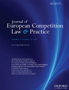 Cover of Journal of European Competition Law and Practice: Print Only