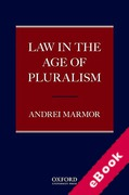 Cover of Law in the Age of Pluralism (eBook)