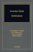 Cover of Investor State Arbitration