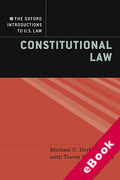 Cover of Constitutional Law (eBook)