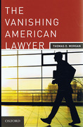 Cover of The Vanishing American Lawyer