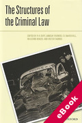 Cover of The Structures of the Criminal Law (eBook)