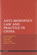 Cover of Anti-Monopoly Law and Practice in China