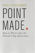 Cover of Point Made: How to Write Like the Nation's Top Advocates