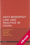Cover of Anti-Monopoly Law and Practice in China (eBook)