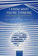 Cover of I Know What You're Thinking: Brain Imaging and Mental Privacy