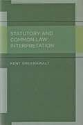 Cover of Statutory and Common Law Interpretation