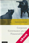 Cover of Corporate Governance after the Financial Crisis (eBook)