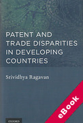 Cover of Patent and Trade Disparities in Developing Countries (eBook)