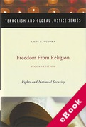 Cover of Freedom From Religion: Rights and National Security (eBook)