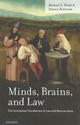 Cover of Minds, Brains, and Law: The Conceptual Foundations of Law and Neuroscience