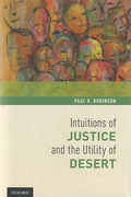 Cover of Intuitions of Justice and the Utility of Desert