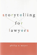 Cover of Storytelling for Lawyers