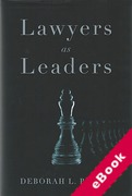 Cover of Lawyers as Leaders (eBook)