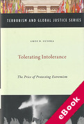 Cover of Tolerating Intolerance: The Price of Protecting Extremism  (eBook)