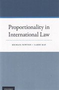 Cover of Proportionality in International Law