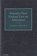 Cover of Toward a New Federal Law on Arbitration