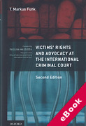 Cover of Victims' Rights and Advocacy at the International Criminal Court (eBook)