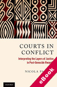 Cover of Courts in Conflict: Interpreting the Layers of Justice in Post-Genocide Rwanda (eBook)