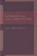 Cover of Interpreting the Constitutional