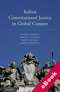 Cover of Italian Constitutional Justice in Global Context (eBook)