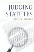 Cover of Judging Statutes