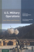 Cover of U.S. Military Operations: Law, Policy, and Practice