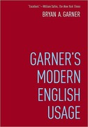 Cover of Garner's Modern English Usage