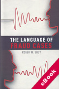 Cover of The Language of Fraud Cases (eBook)