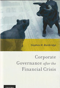 Cover of Corporate Governance after the Financial Crisis