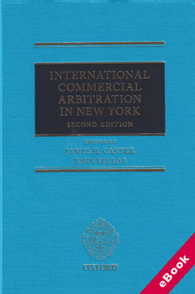 Wildy sons ltd the worlds legal bookshop search results for international commercial arbitration in new york 2nd ed ebook fandeluxe Images