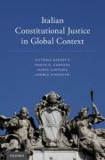 Cover of Italian Constitutional Justice in Global Context