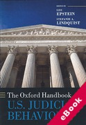 Cover of The Oxford Handbook of U.S. Judicial Behavior (eBook)