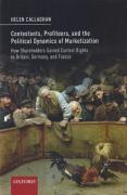 Cover of Contestants, Profiteers, and the Political Dynamics of Marketization: How Shareholders gained Control Rights in Britain, Germany, and France