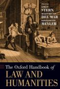 Cover of The Oxford Handbook of Law and Humanities