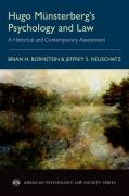 Cover of Title: Hugo Munsterberg's Psychology and Law: A Historical and Contemporary Assessment