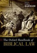 Cover of The Oxford Handbook of Biblical Law