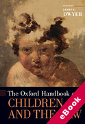 Cover of The Oxford Handbook of Children and the Law (eBook)