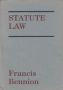 Cover of Statute Law