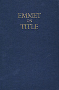 Cover of Emmet on Title 18th ed