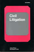 Cover of Civil Litigation 3rd ed