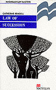 Cover of Palgrave Law Masters: Law of Succession