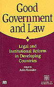 Cover of Good Government and Law: Legal and Institutional Reform in Developing Countries