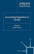 Cover of Accounting Regulation in Europe