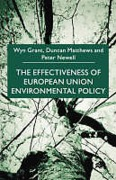 Cover of The Effectiveness of European Union Environmental Policy