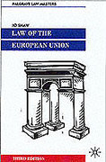 Cover of Palgrave Law Masters: Law of the European Union
